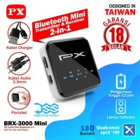Bluetooth Receiver Transmitter 5.0 Car Home Audio PX BRX-3000 Mini