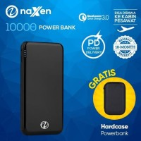 Powerbank 10000mAh Naxen Quick Charge 3.0 PD Delivery Simplicity