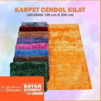 KARPET CENDOL KILAP GLOSY UK 150x200