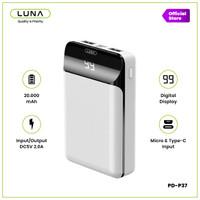 Luna Power Bank PD-P37 - Putih