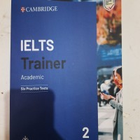 Buku Cambridge IELTS Trainer 2 Academic with Answer and CD