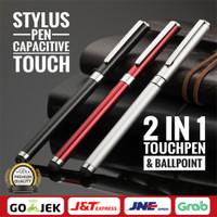 Universal Tablet PC Smart Phone Stylus Ball Point Pen Touch Screen Pen