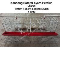 Kandang Baterai Ayam Petelur/Kandang Battery Galvanise komplit set