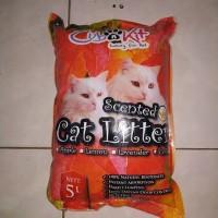GRAB/GOJEK Pasir Kucing Wangi gumpal Cub N Kit 10lt Paket 3pcs