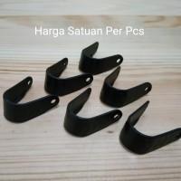 Penjepit Hidung Masker Nose Bridge Mask - Lengkung Hitam - Per Pcs