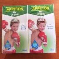 Multivitamin Anak Appeton Lysine Syirup 120 ml ready