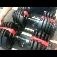 BARBEL DUMBBELL BOWFLEX ADJUSTABLE 24 kg ORIGINAL IMPORT