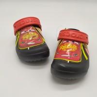 SALE! Sendal Anak Crocs Cars Rusteze Black