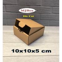 Kardus karton 10x10x5 cm....Die Cut untuk kotak aksesoris dll modek bo