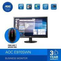 AOC E970SWN LED Monitor 18,5 VGA TN Panel 5ms