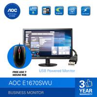 AOC E1670SWU LED Monitor 15,6 VGA TN Panel