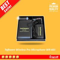 Taffware Wireless FM Transmitter - Receiver Pro Microphone - WR-601