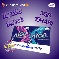VOUCHER DATA AXIS AIGO MINI 3 GB 15 HARI
