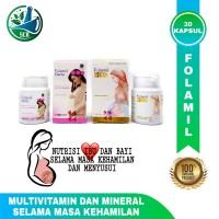 Folamil - Gold & Genio - Nutrisi Ibu dan bayi - Kehamilan & Menyusu