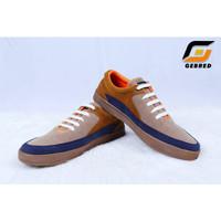 Sepatu Sneakers Pria Gebred Official Store Suede TPR