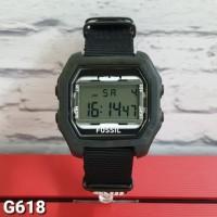 jam tangan digital sport strap kanvas dropship