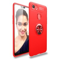 Oppo F7 iRing Invisible TPU Soft Case - case oppo F7 - Free tempered