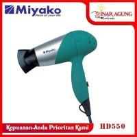 MIYAKO HAIR DRYER HD 550 / HD550 / HD-550 [GARANSI RESMI] HIJAU