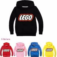 jaket sweater anak s m sd abg tanggung lego hitam kuning pink maroon