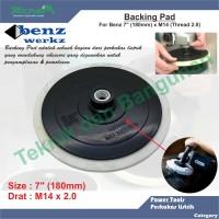 "Velcro Backing Pad/Tatakan Velcro Disc 7"" Benz"