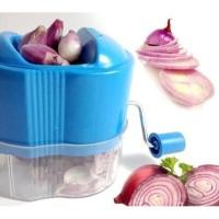 Kitchen Slicer onion Slicer Alat Perajang Bawang Pengiris Bawang Sedi