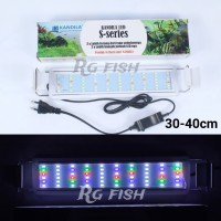 lampu led aquarium aquascape kandila s series S300 tank 30-40cm