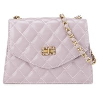 HUER Alesya Quilted Flap Sling Bag 9440-137 Purple