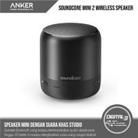 Anker Soundcore Mini 2 Bluetooth Speaker Wireless 6W IPX7 Waterproof - Hitam