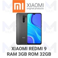 Xiaomi Redmi 9 3/32 Ram 3gb Rom 32gb Garansi Resmi