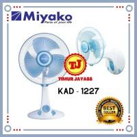 "Miyako kipas angin meja+dinding 12"" KAD -1227 desk fan miyako"