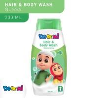 Doremi Kids Hair & Body Wash Anak 200ml Nusa Rara Sabun Shampo Anak