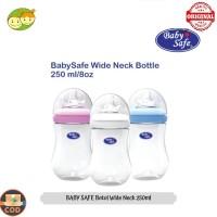 Baby Safe Botol Susu Bayi Wide Neck 260 ml Mirip Puting Ibu