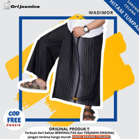 Sarung celana wadimor dewasa hitam tumpal - Hitam