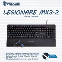 Keyboard Gaming Mechanical Rexus MX3.1 / Rexus MX 3.1