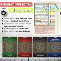 Alquran Personal Al-Quran AlQosbah Hafazan 7 Uk B6 Al Quran Hafalan