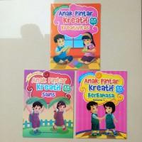 Buku Anak Pintar Kreatif 5-6th BERBAHASA BERHITUNG MEWARNAI SAINS