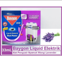 BAYGON Liquid Elektrik SC Johnson 33ml - Obat Nyamuk Wangi Lavender