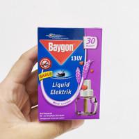 BAYGON Liquid Elektrik Refill 22ml SC Johnson Lavender - Obat Nyamuk