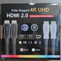 AOC Cable HDMI Fiber Optic 20 - 50 - 100 Meter Support 4K High Quality