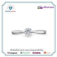 Cincin SOLITAIRE cincin wanita berlian eropa gold 18K