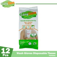 EasyCare Wash Gloves 12 Sheets Perfume