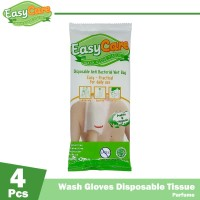 EasyCare Wash Gloves 4 Sheets Perfume