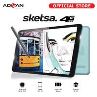Advan Tab Sketsa 10 Inci 4GB 32 GB - Tablet Pen Case, Cellular