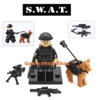 Brick POGO XINH - SWAT Police Army Terorist Rebel Lego Tanpa Dus