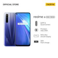 Realme 6 8/128 GB (RAM 8GB Internal 128GB) - Garansi Resmi Realme