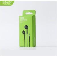 Headset Earphone ROBOT RE10 Headset High Sound Quality Handsfree