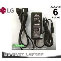 Adaptor charger LCD LED Monitor LG 19V - 0.84A - 2.1A Original Murah