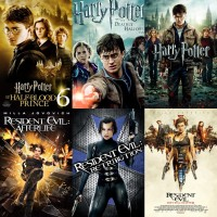 Flashdisk 32Gb Isi Film Harry Potter & Resident Evil Bonus Otg