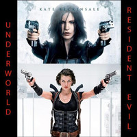 Flashdisk 32GB Isi Film Resident Evil & Underworld Bonus Otg