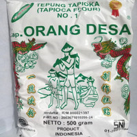tepung tapioka sagu tani bumi kencana 1/2kg (500gr)